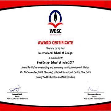 Best-design-school-award-2017