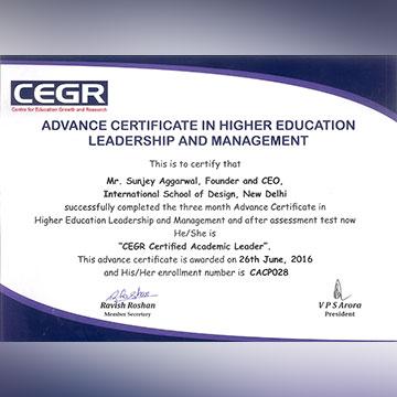 academic leader award insd pune baner