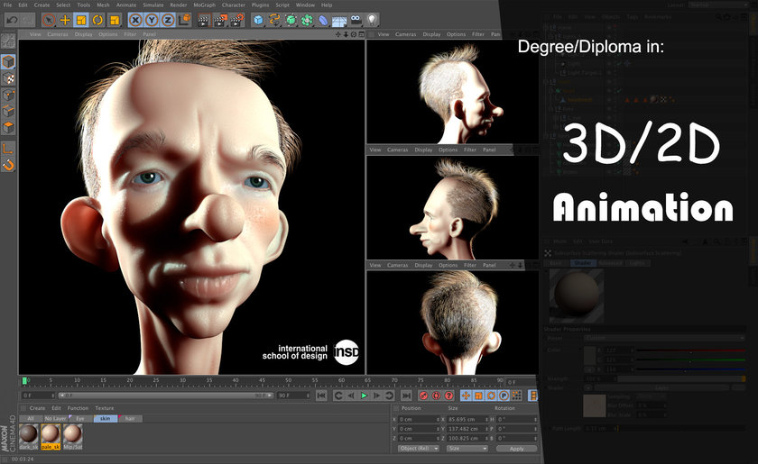 Animation course insd pune baner