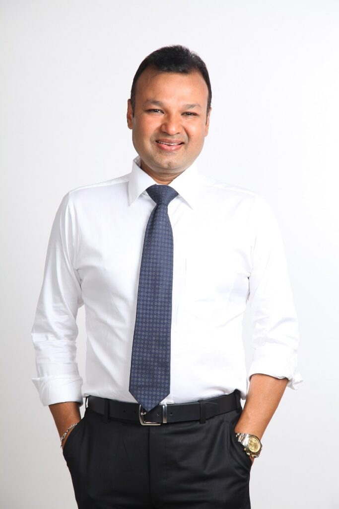 Mr. Sunjey Founder of INSD Pune Baner